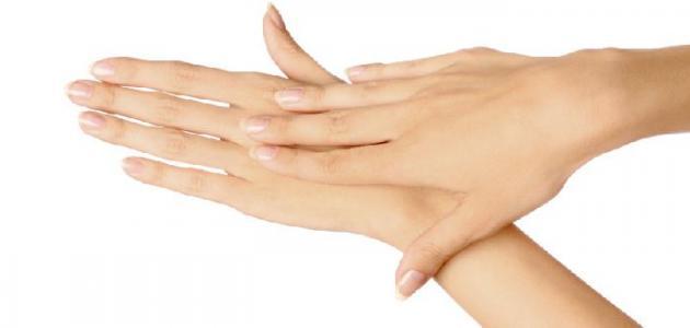 علاج تجاعيد اليدين