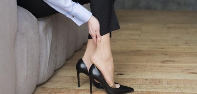 كيف أحافظ على قدمي