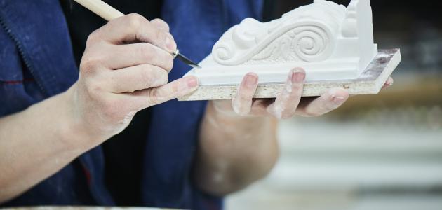 صناعة قوالب الجبس