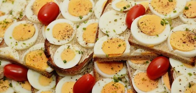طريقة عمل بيض لذيذ
