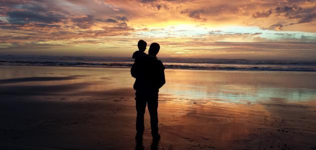 كلام عن حب الأب