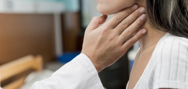 أعراض أمراض الحنجرة