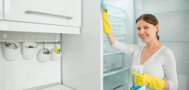 كيفية غسل الثلاجة