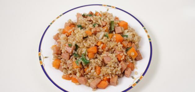 طريقة عمل أرز بسمتي بالخلطة