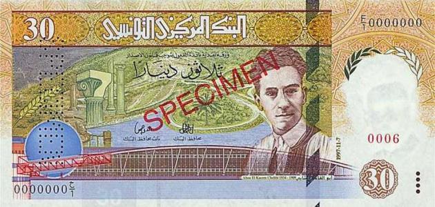 ما اسم عملة تونس
