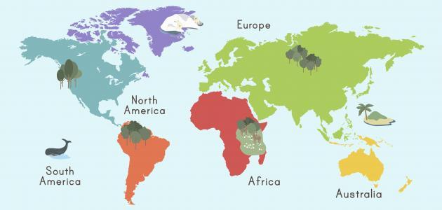 ما أصغر قارة في العالم