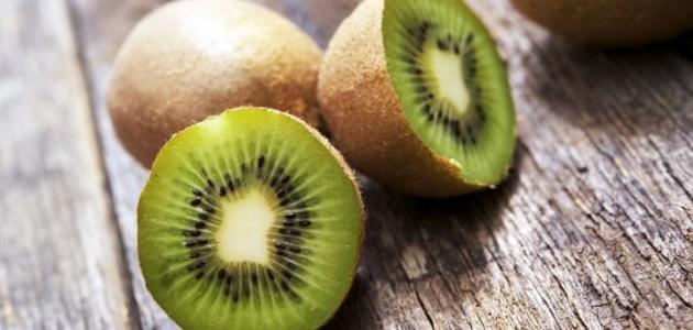 ما فائدة فاكهة الكيوي