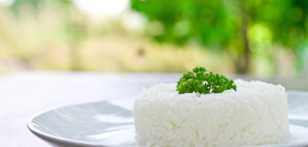 طريقة عمل أرز أبيض صحي