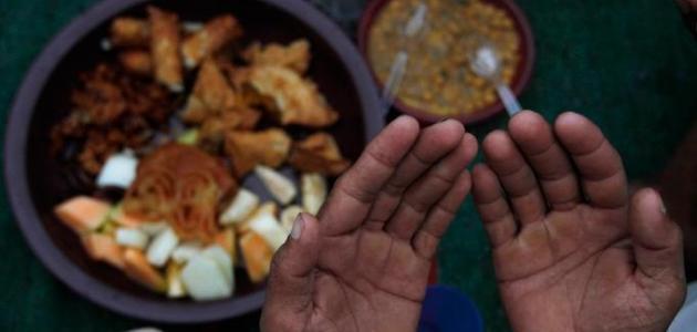 ادعية الصوم والافطار