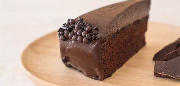 طريقة عمل صلصة الشوكولاته للكيك