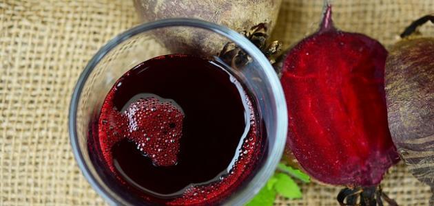 طريقة تحضير عصير الشمندر الصحي