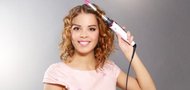 كيفية تجعيد الشعر في المنزل