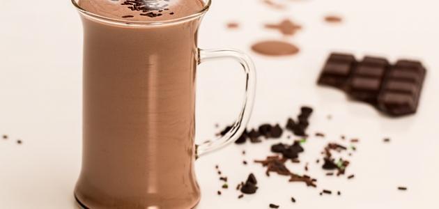 طريقة عمل شراب شوكولاته ساخنة