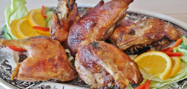 طريقة عمل شوي الدجاج بالفرن