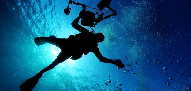 الضغط تحت الماء
