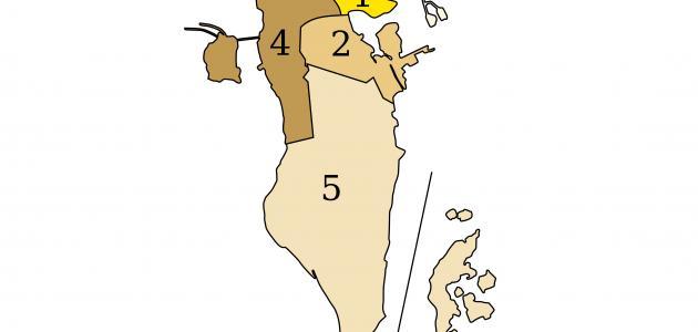 ما هي مساحة البحرين