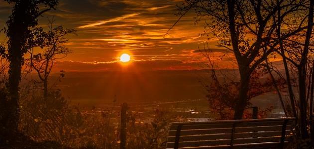أجمل ما قيل عن غروب الشمس