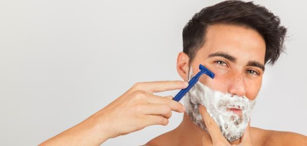 كيفية التخلص من شعر الوجه للرجال