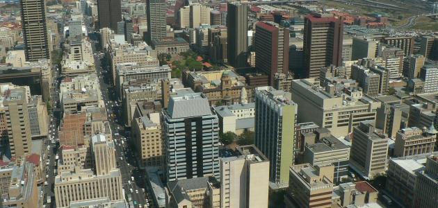 أكبر مدينة في جنوب أفريقيا