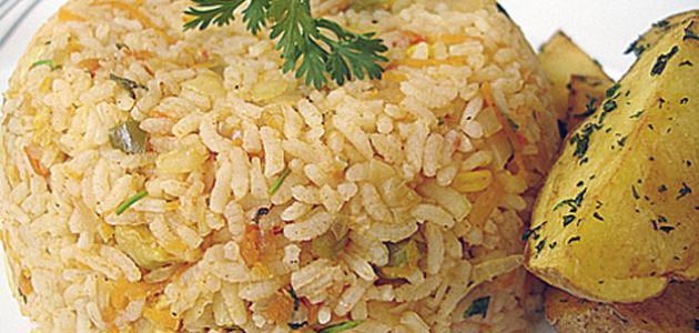 عمل أرز البسمتي
