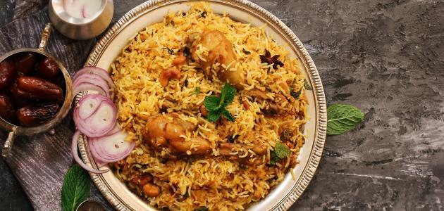 طريقة عمل مجبوس دجاج بحريني