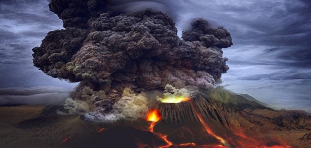 كيفية تكون البركان