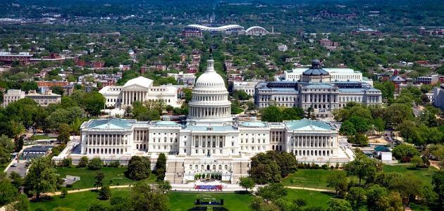 ما هي عاصمة الولايات المتحدة
