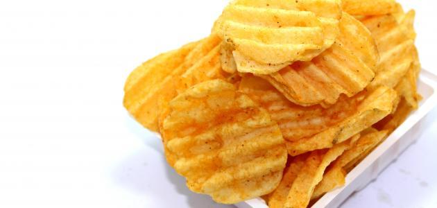 طريقة عمل شيبس البطاطا في المنزل