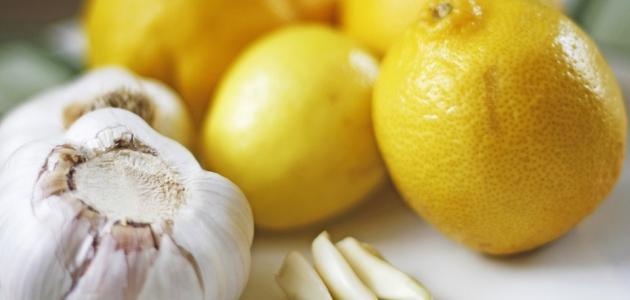 طريقة عمل صوص الليمون والثوم