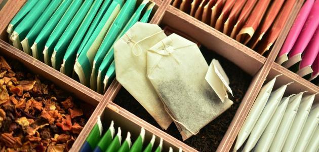 طريقة استخدام أكياس الشاي للهالات