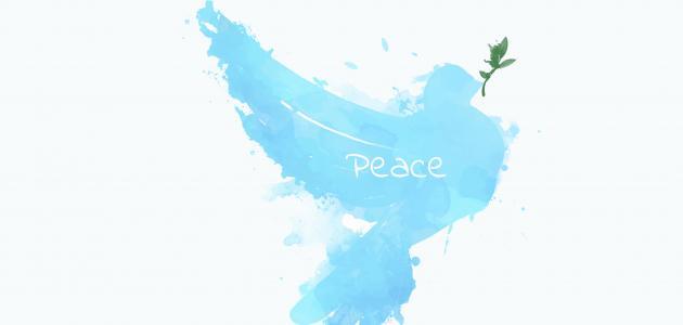 ما قيل عن السلام