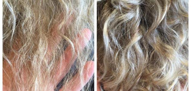 كيفية إصلاح الشعر التالف