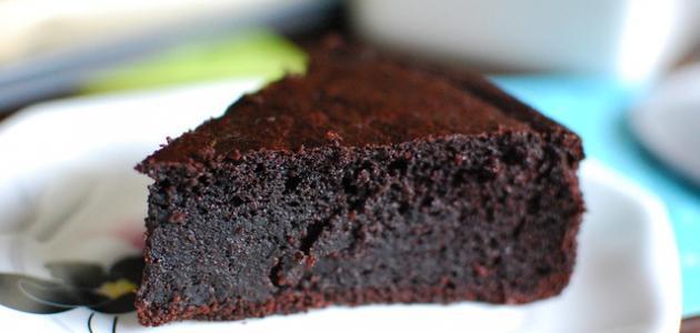 طريقة عمل كيكة الكاكاو الهشة