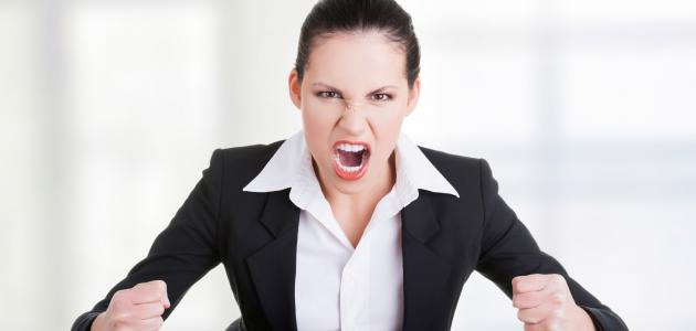 اضرار الغضب