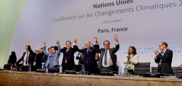 اتفاقية باريس المناخية