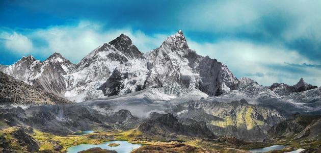 كيفية تشكل الجبال