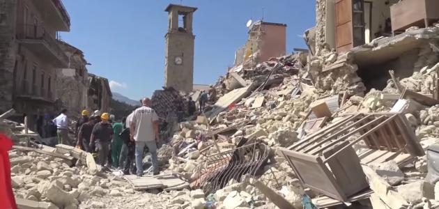 كيف تتصرف عند حدوث زلزال