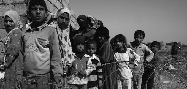 آثار الحروب على الأطفال