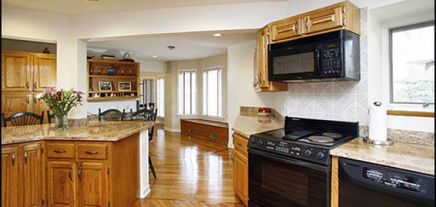 تنظيف المطبخ الالوميتال from modo3.com