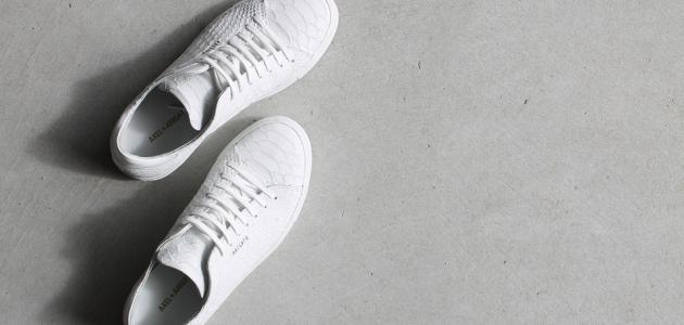 كيفية تنظيف حذاء جلد أبيض