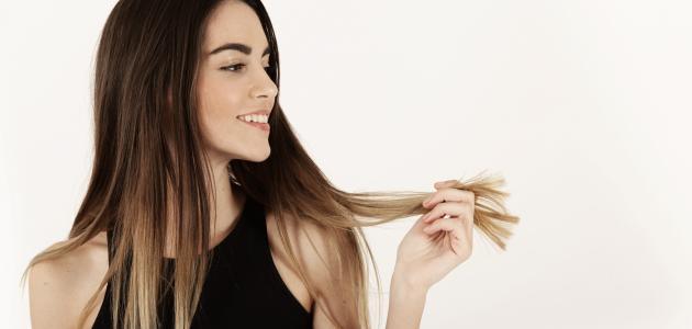 كيفية تغذية الشعر الجاف