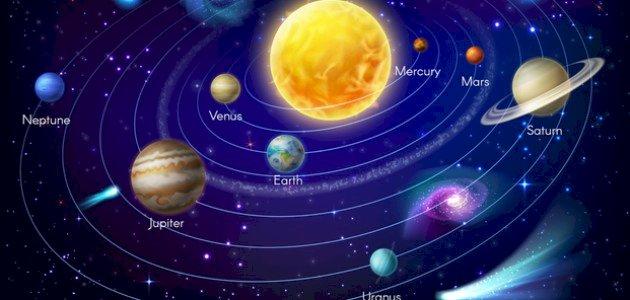 حركة الكواكب حول الشمس