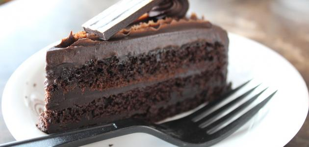 طريقة عمل كيكة محشية بالشوكولاتة