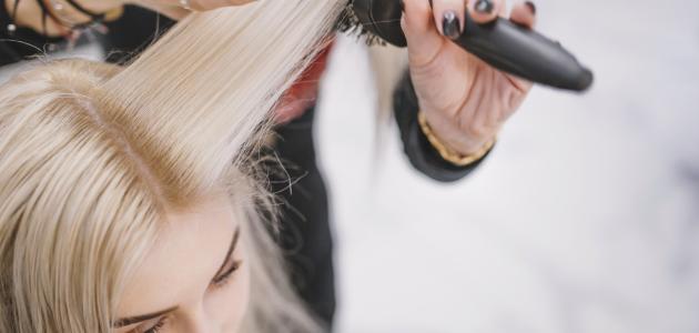 كيفية تجميل الشعر