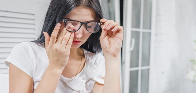 ما علاج رفة العين