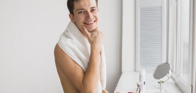 كيفية النظافة الشخصية للرجل