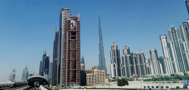 ما هي مساحة برج خليفة موضوع