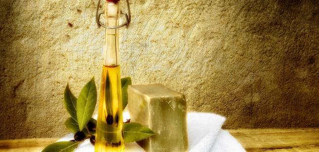 طريقة صنع الصابون من زيت الزيتون