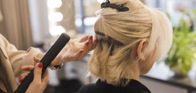 كيفية تصفيف الشعر القصير