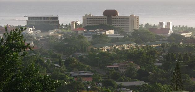 ما هي عاصمة ساموا